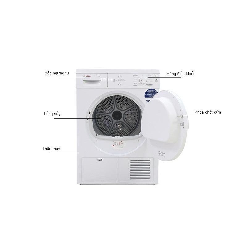 Hình ảnh máy sấy quần áo Bosch WTE84105GB