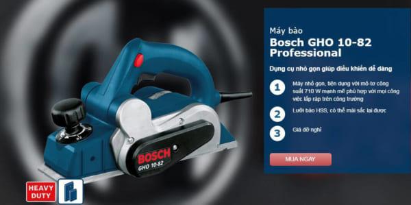 Bosch GHO 10-82 Professional   Máy bào