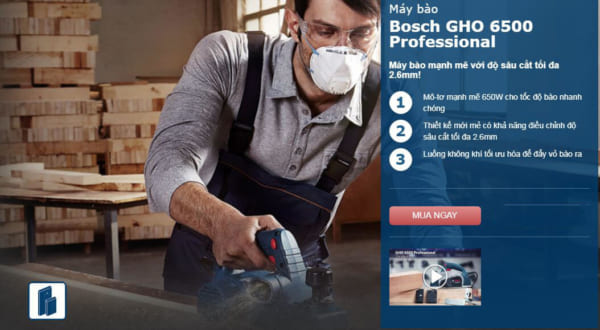 Bosch GHO 6500 Professional | Máy bào