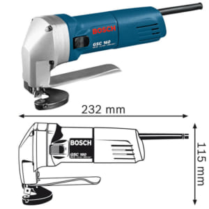 Bosch GSC 160 Professional | Máy cắt kim loại