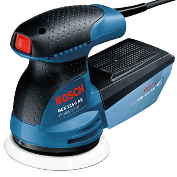 Bosch GEX 125-1 AE Professional | Máy chà nhám rung tròn