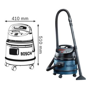 Bosch GAS 11-21 Professional | Máy hút đa năng