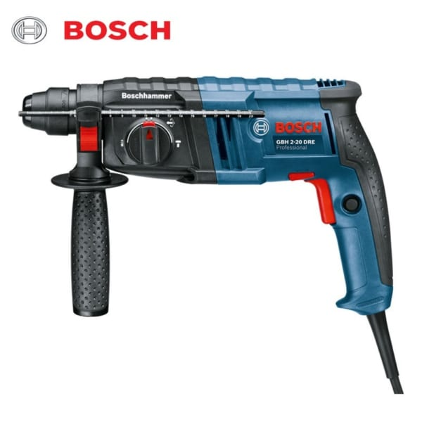 Bosch GBH 2-20 DRE Tặng phụ kiện Professional   Máy khoan búa dùng mũi khoan SDS-plus