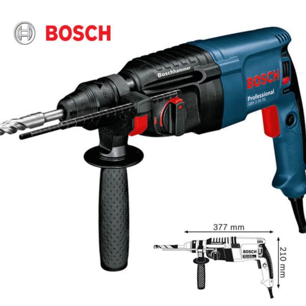 Bosch GBH 2-26 RE Professional | Máy khoan búa dùng mũi khoan SDS-plus