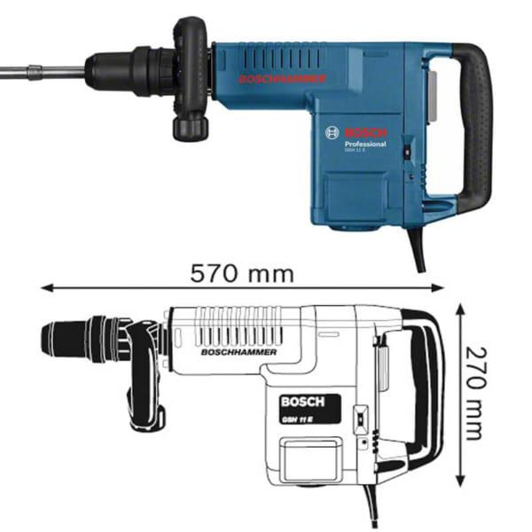 Bosch GSH 11 E Professional | Máy đục phá dùng mũi SDS-max