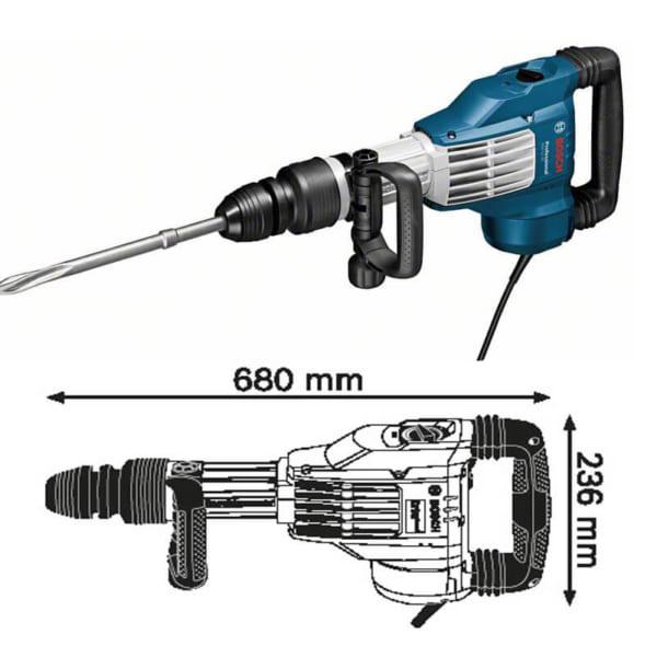 Bosch GSH 11VC Professional   Máy đục phá dùng mũi SDS-max