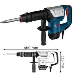 Bosch GSH 5 Professional | Máy đục phá dùng mũi SDS-max