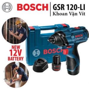 Bosch GSR 120-LI | Máy khoan vặn vít dùng pin