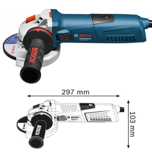 Bosch GWS 17-125 CI Professional   Máy mài góc