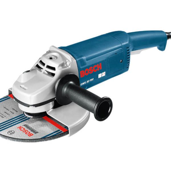 Bosch GWS 20-180 Professional | Máy mài góc Tặng kèm phụ kiện