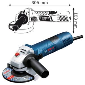 Bosch GWS 7-125 Professional | Máy mài góc