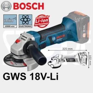 Bosch GWS 18 V-LI Professional | Máy mài góc dùng pin