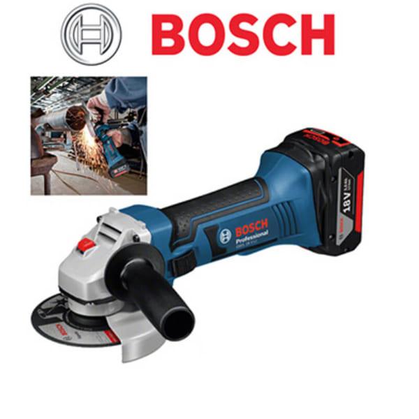 Bosch GWS 18 V-LI Professional | Máy mài góc dùng pin ( Không pin , sạc )