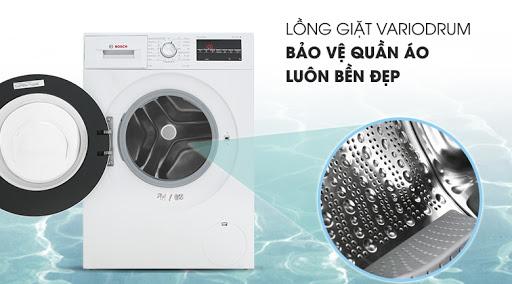 Chương trình máy giặt Bosch WAP28480SG