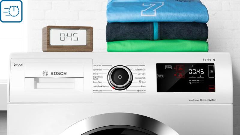 Ảnh bảng điều khiển máy giặt Bosch WAW32640EU