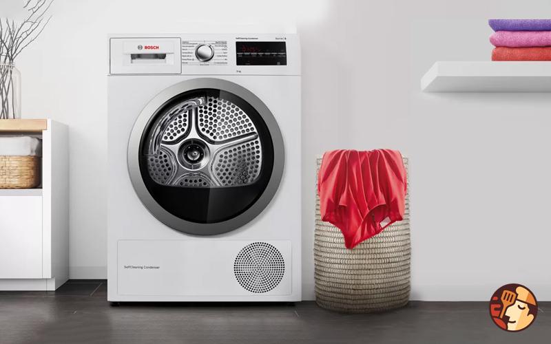 Ảnh thực tế máy sấy quần áo Bosch WTB86201SG