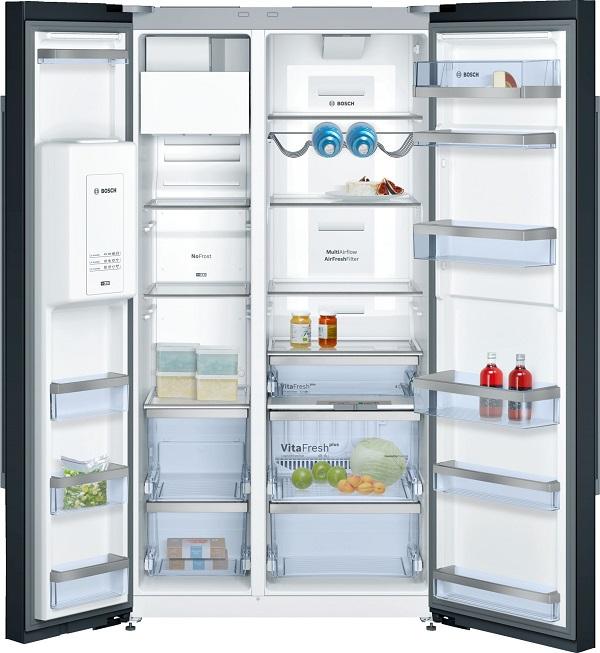 Ảnh bên trong tủ lạnh Bosch KAD92SB30
