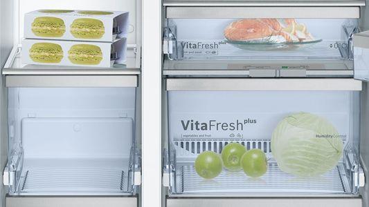 Ảnh tủ lạnh side by side Bosch KAD90VI20